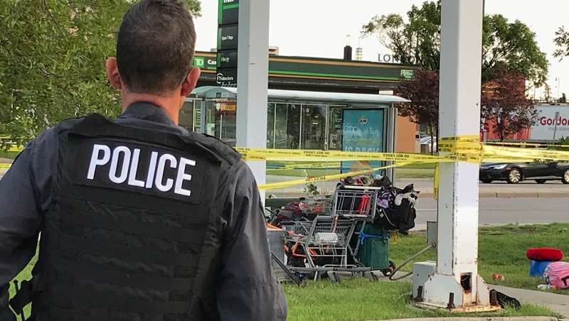 Darrin Thomas Amond, 40, was found severely injured near the Whitehorn Safeway gas bar on July 18, 2019