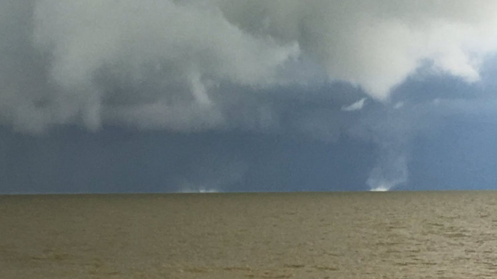 Tornado touches down in Camper, manitoba