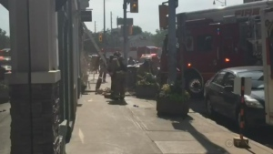 Fire at downtown Guelph building