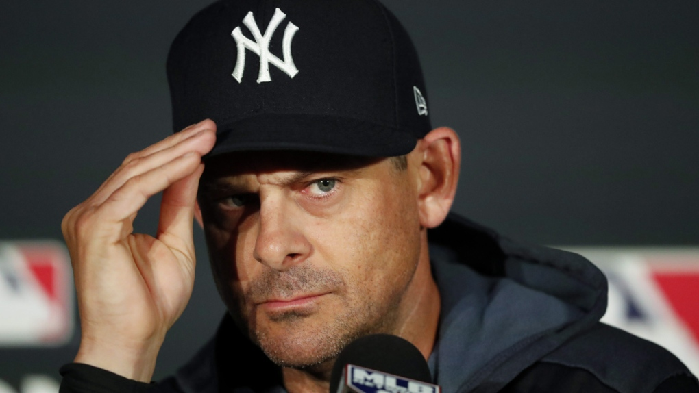 Yankees manager ejected, directs profane rant at rookie umpire