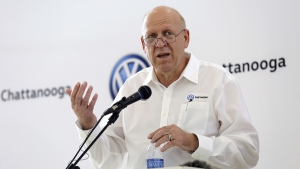 New Volkswagen Chattanooga CEO Tom du Plessis