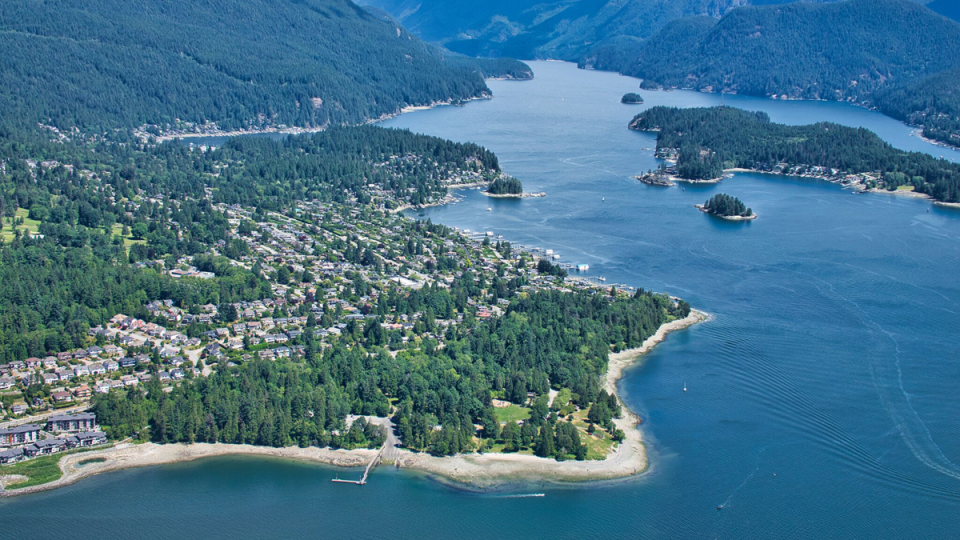 Indian Arm and Cates Park
