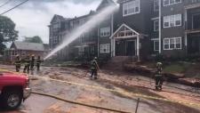 PEI apartment fire