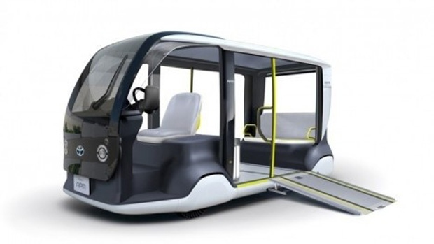 Toyota to deploy electric shuttles at 2020 Games