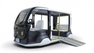 Toyota to deploy nearly 200 electric shuttles at the 2020 Olympic Games. (Courtesy of Toyota)