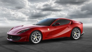 The Ferrari 812 Superfast will reportedly be available as a Spider edition. (Ferrari North Europe)
