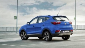 The MG ZS EV should be available in Europe in the Fall of 2019. (Courtesy of SAIC Motor)