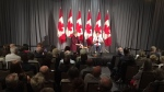 He made the comments in Victoria Thursday following a joint announcement with Premier John Horgan of $79 million to support 118 new transit buses across the province. (CTV Vancouver Island)