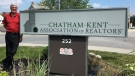 Chatham-Kent Association of Realtors sign in Chatham-Kent. (Courtesy CKAR)