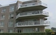 Earl Jones condo in Dorval.