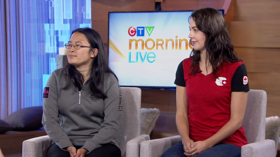 Susan Wang and Rosalind Groenewoud appear on CTV Morning Live in Vancouver on Friday, July 19, 2019.