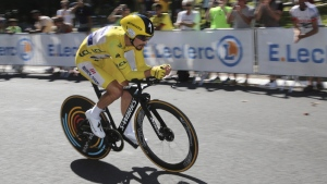 Julian Alaphilippe during stage 13