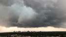 A view over London, Ont., as tornado-warned storm approaches the city. (Photo courtesy of Andrew Harvey)