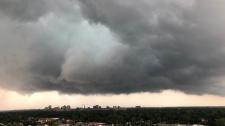 London storm