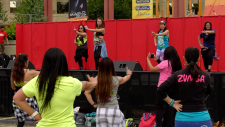 The free, family friendly arts and entertainment festival is onall weekend at Olympic Plaza from 11 a.m.to 11 p.m.