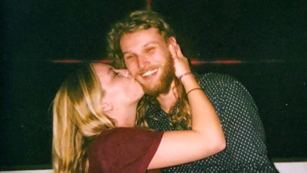 Lucas Fowler and his girlfriend Chynna Deese are shown in a handout photo supplied by the New South Wales Police Force. (THE CANADIAN PRESS/HO-New South Wales Police Force)