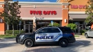 Police in Stuart, Fla. say five guys were arrested at a Five Guys restaurant after a fist fight broke out in the fast food chain Wednesday. (Stuart Police Department/Facebook)