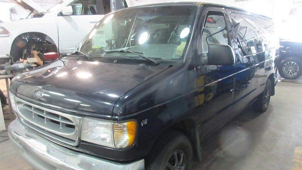 Mike McMullan had his specialized van stolen twice in three weeks, but Edmonton police recovered it both times.
