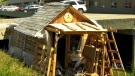 The man behind homemade house tells his story