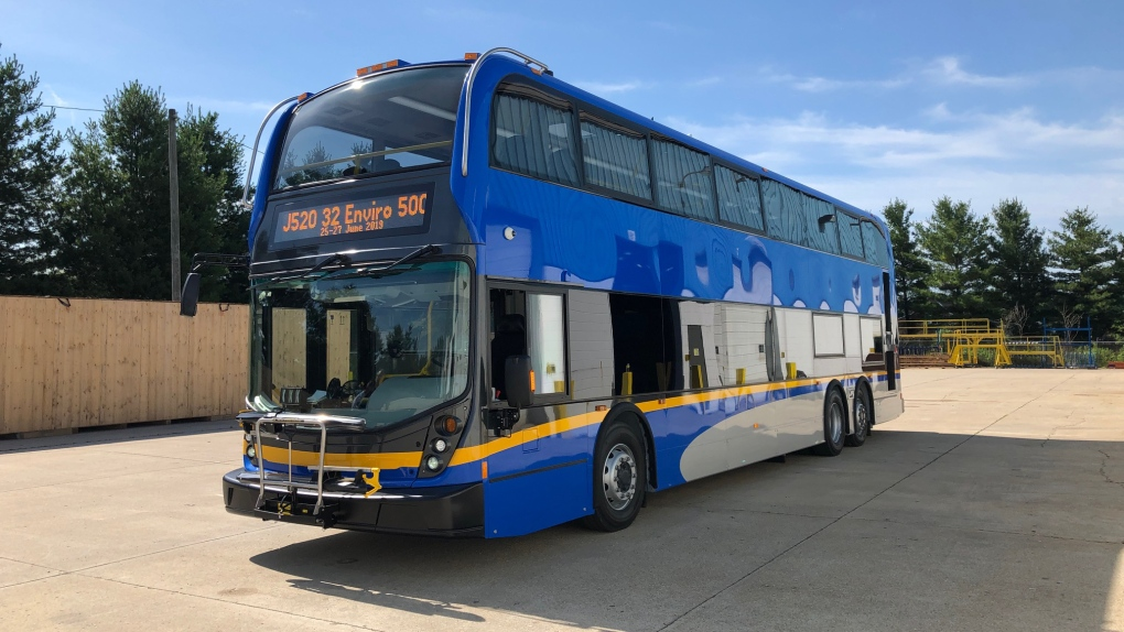 Double-decker buses to join TransLink's fleet in the fall