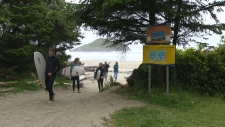 The waves on Long Beach, near Tofino, attract surfers from all over. But while the waves may be known for their beauty and fun, concern is growing about their danger. (CTV)