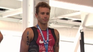 Some of the world's top triathletes are in Edmonton for this weekend's competition.