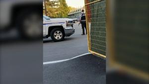 Langley Memorial Hospital police presence