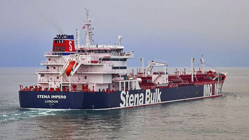 Undated photo of the British oil tanker Stena Impero. (Stena Bulk via AP)