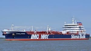 The British oil tanker Stena Impero