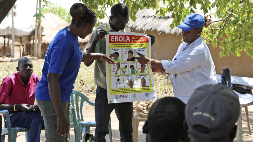 Ebola awareness training in South Sudan
