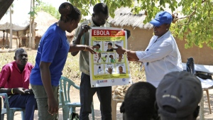 Ebola awareness training in South Sudan