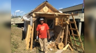 "Allen Par, a carpenter by trade, said he lost his job in 2014, four years after coming to Canada from the Philippines, to find work and to ""find a better future."" (Photo: Jeremie Charron/CTV News Winnipeg)"