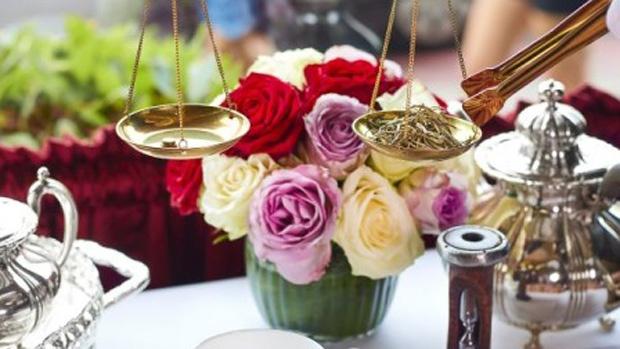 Tea service at The Rubens at The Palace