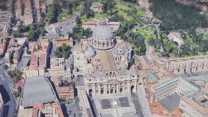Vatican officials unseal human remains