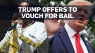 Trump offers to guarantee A$AP Rocky's bail