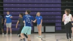 Laurier fundraiser dodgeball