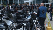 Motorcycle rally for veterans