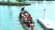 Dragon boat races take over Wascana lake