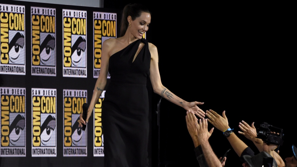 Angelina Jolie at Comic-Con