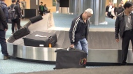 Renowned fiddler's baggage stolen