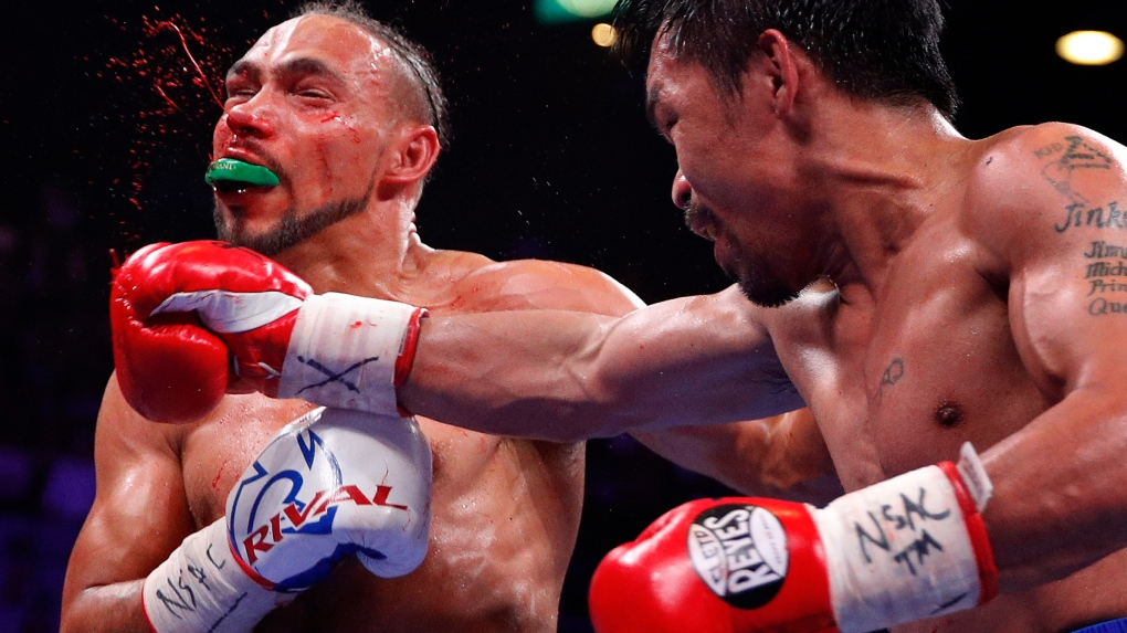 Manny Pacquiao and Keith Thurman