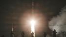 ISS crew blasts off on moon landing anniversary