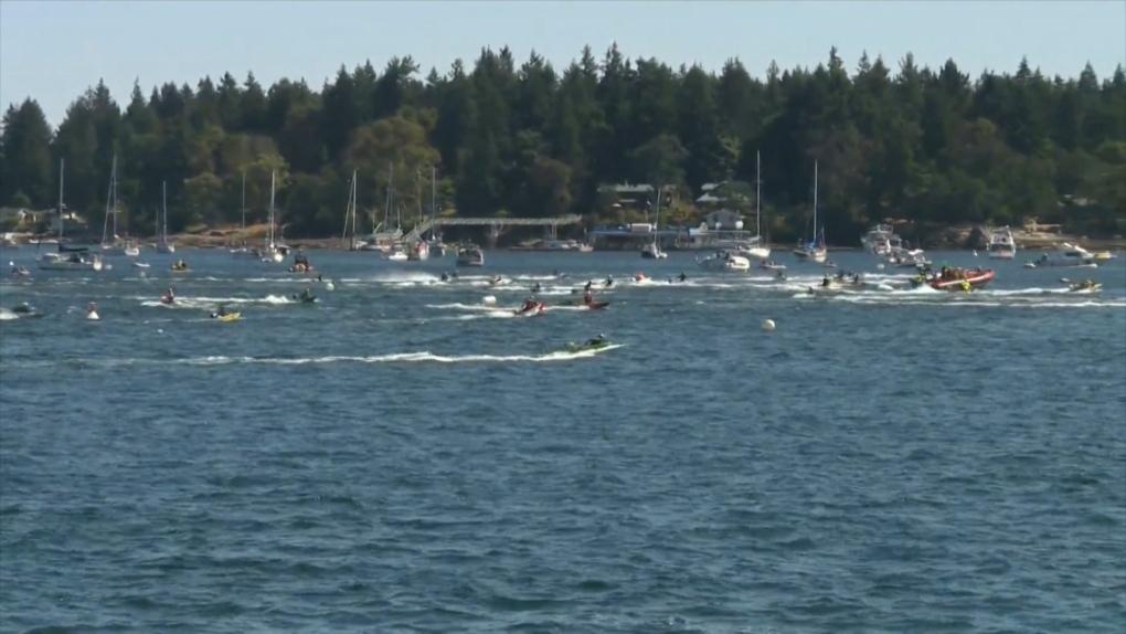 Record time set in annual Nanaimo bathtub race