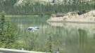 According to RCMP, the plane crashed into the Athabasca River Sunday afternoon near the Jasper Airport site.