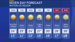 Clear skies expected for work week