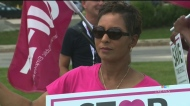 NDP, workers protest closure of Seven Oaks ER