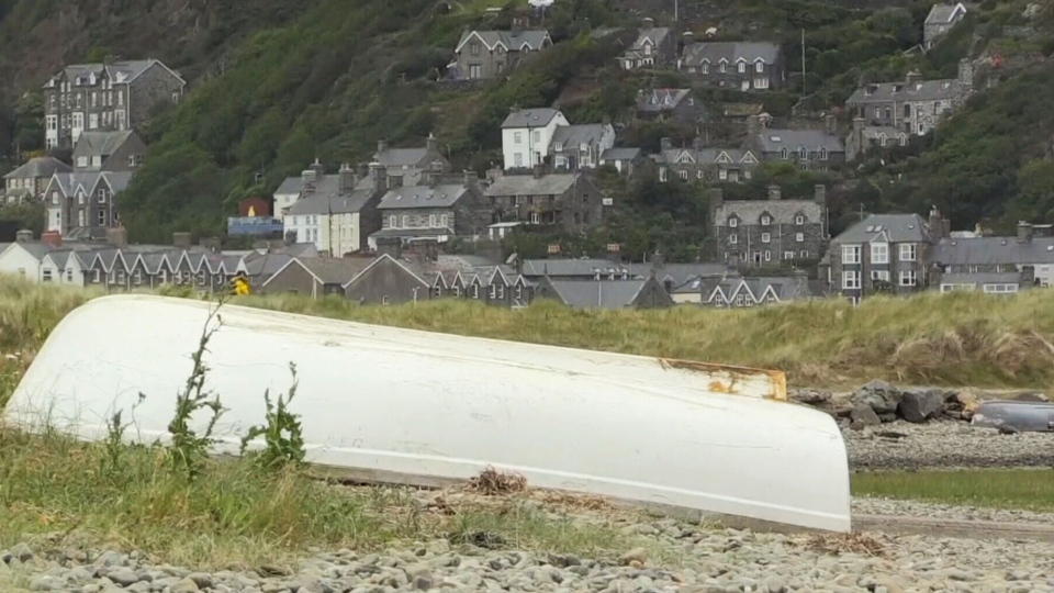 Fairbourne, Wales could be the first village in the United Kingdom to produce climate refugees.