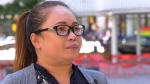 Yleine Demasana has worked as a hotel room attendant for 5 years and said an incident last October at a Vancouver hotel still haunts her. (CTV)