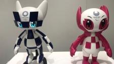 robots of mascots of Olympics