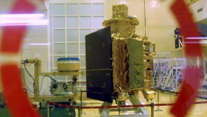Chandrayaan 1 spacecraft
